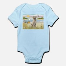 Rowboat & Yellow Lab Infant Bodysuit
