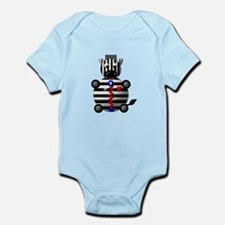 CUTE ZEBRA WITH ZIPPER Infant Bodysuit