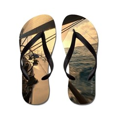 St. Thomas Sunset Flip Flops