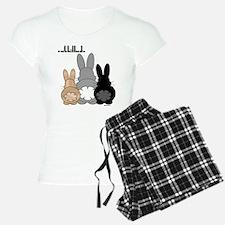 Rabbittude Posse Pajamas