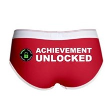 Achievement Unlocked Women's Boy Brief