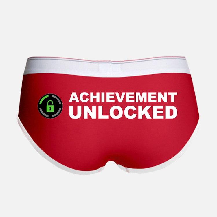 Achievement Unlocked Women's Boy Brief