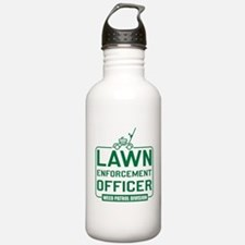 Lawn Enforcement Officer Water Bottle