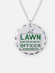Lawn Enforcement Officer Necklace
