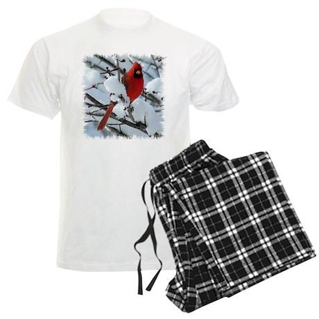 Snow Cardinal Men's Light Pajamas