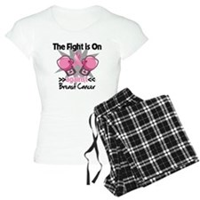 Fight is On Breast Cancer Pajamas