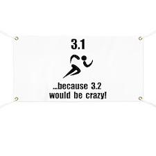 5K Run Crazy Banner