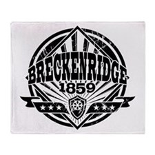 Breckenridge 1859 Vintage 2 Throw Blanket