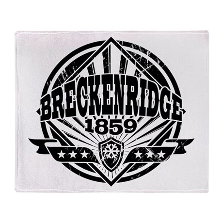 Breckenridge 1859 Vintage 2 Throw Blanket