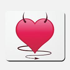 Devilish Heart Mousepad