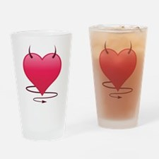 Devilish Heart Drinking Glass