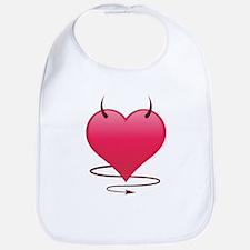 Devilish Heart Bib