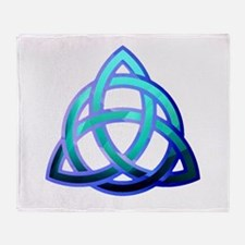 Cute Trinity knots Throw Blanket