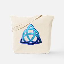 Cute Catholic celtic knot Tote Bag