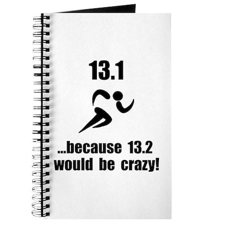 13.1 Run Crazy Journal