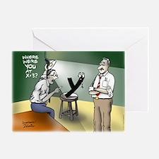 Interrogation Greeting Card