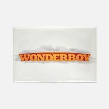 Wonderboy Rectangle Magnet