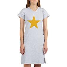 Gold Star Women's Nightshirt