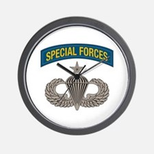 Airborne Special Forces Senior Wall Clock