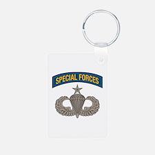 Airborne Special Forces Senior Aluminum Photo Keyc