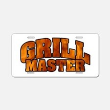 Grill Master Aluminum License Plate