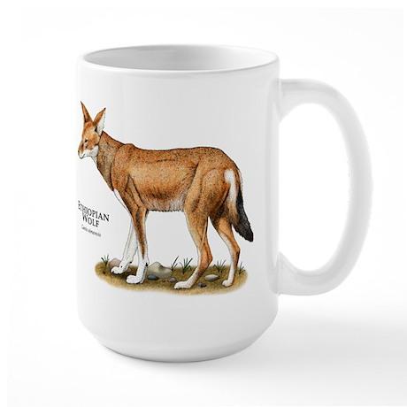 Ethiopian Wolf Large Mug