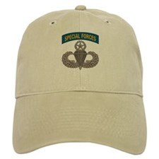Airborne SF w Master Wings Baseball Cap