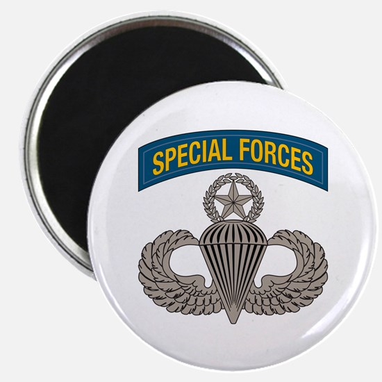 Airborne SF w Master Wings Magnet