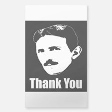The Thank You Series Tesla Decal