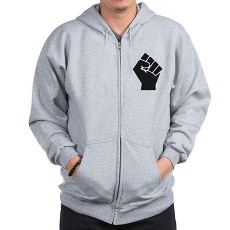 Occupy Fist Zip Hoodie
