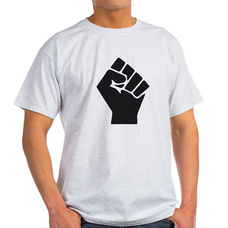 Occupy Fist Light T-Shirt