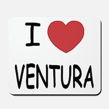 I heart ventura Mousepad