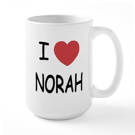 I heart norah Large Mug