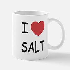 I heart salt Mug