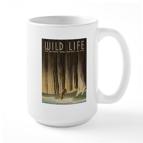 Wild Life Large Mug