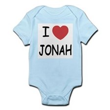 I heart jonah Infant Bodysuit