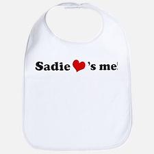 Sadie loves me Bib