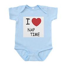 I heart nap time Infant Bodysuit