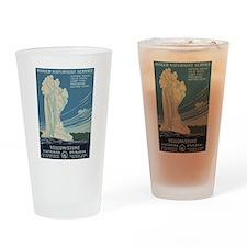Yellowstone National Park Drinking Gla