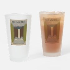 See America Drinking Glass