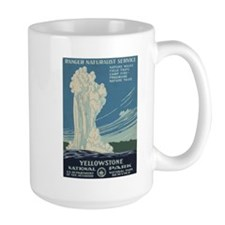 Yellowstone National Park Mug(Left-Handed)