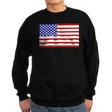 American flag Sweatshirt (dark)