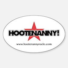 Cool Hootenanny Sticker (Oval)