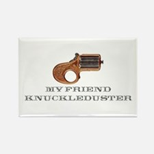 Knuckle Duster Rectangle Magnet