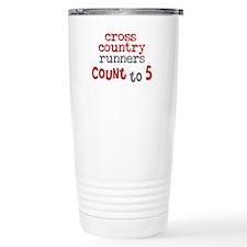 Cross Country Counts 5 Travel Coffee Mug