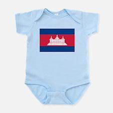 Flag of Cambodia Infant Creeper