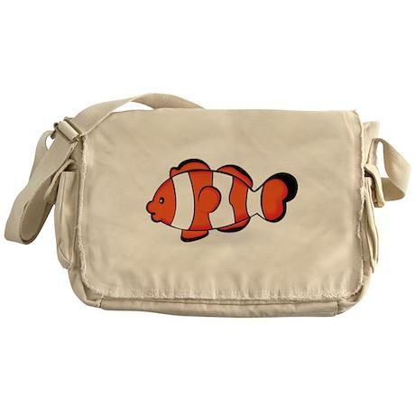 Clown Fish Messenger Bag