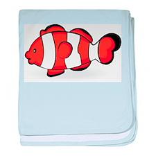 Clown Fish baby blanket