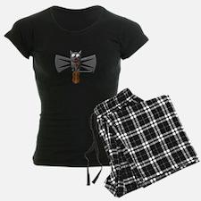 CUTE VAMPIRE BAT WITH VIOLIN Pajamas