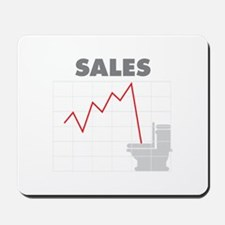 Sales in the Toilet Mousepad